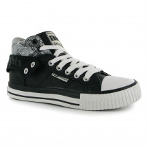 British Knights - Roco PU Hi Tops Ladies