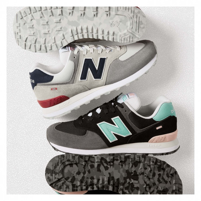New Balance - 574 Suede Tab Trainers