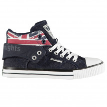 - British Knights Roco Fold Canvas Mens Hi Tops British Knights od londonbridge.cz