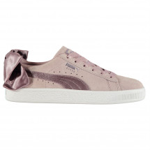 Puma - Bow Suede Trainers