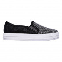 Skechers - Double Up Slip On Trainers Ladies