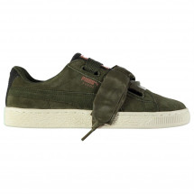 Puma - Velvet Rope Suede Heart Trainers