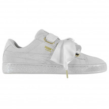 Puma - Suede Heart Satin Trainers