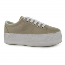 Jeffrey Campbell - Play Canvas Wash Trainers