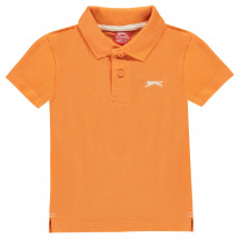 Polo tričko Slazenger - Plain Polo Shirt Infant Boys