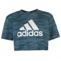 - Adidas Aeroknit Cropped T Shirt Ladies Adidas od londonbridge.cz