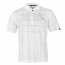 - Dunlop Check Golf Polo Shirt Mens Dunlop od www.londonbridge.cz