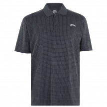 Polokošile Slazenger - Check Golf Polo Mens