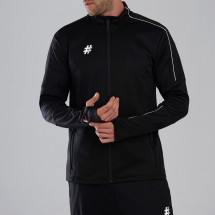 Five - Stadium Zipped Funnel Neck Jacket Mens