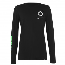 Tričko Nike - Nigeria Voice Long Sleeve T Shirt Mens