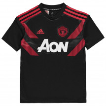 Adidas - Manchester United Pre Match Shirt 2018 2019 Junior