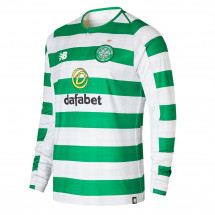 New Balance - Celtic Long Sleeve Home Shirt 2018 2019