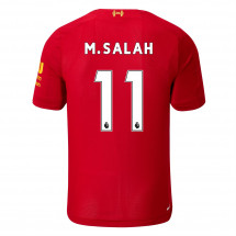 New Balance - Liverpool Mohamed Salah Home Shirt 2019 2020