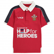 VX-3 - Help For Heroes Wales Rugby Shirt Juniors