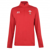 Under Armour - Wales Rugby Quarter Zip Top 2019 2020 Mens