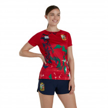 Canterbury - British and Irish Lions Superlight Graphic T Shirt Ladies